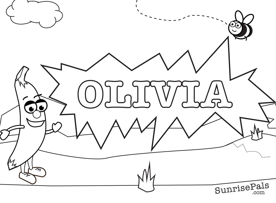Coloring Pages By Name